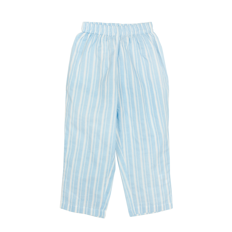 Zig Zag Stripe Blue Night Suit