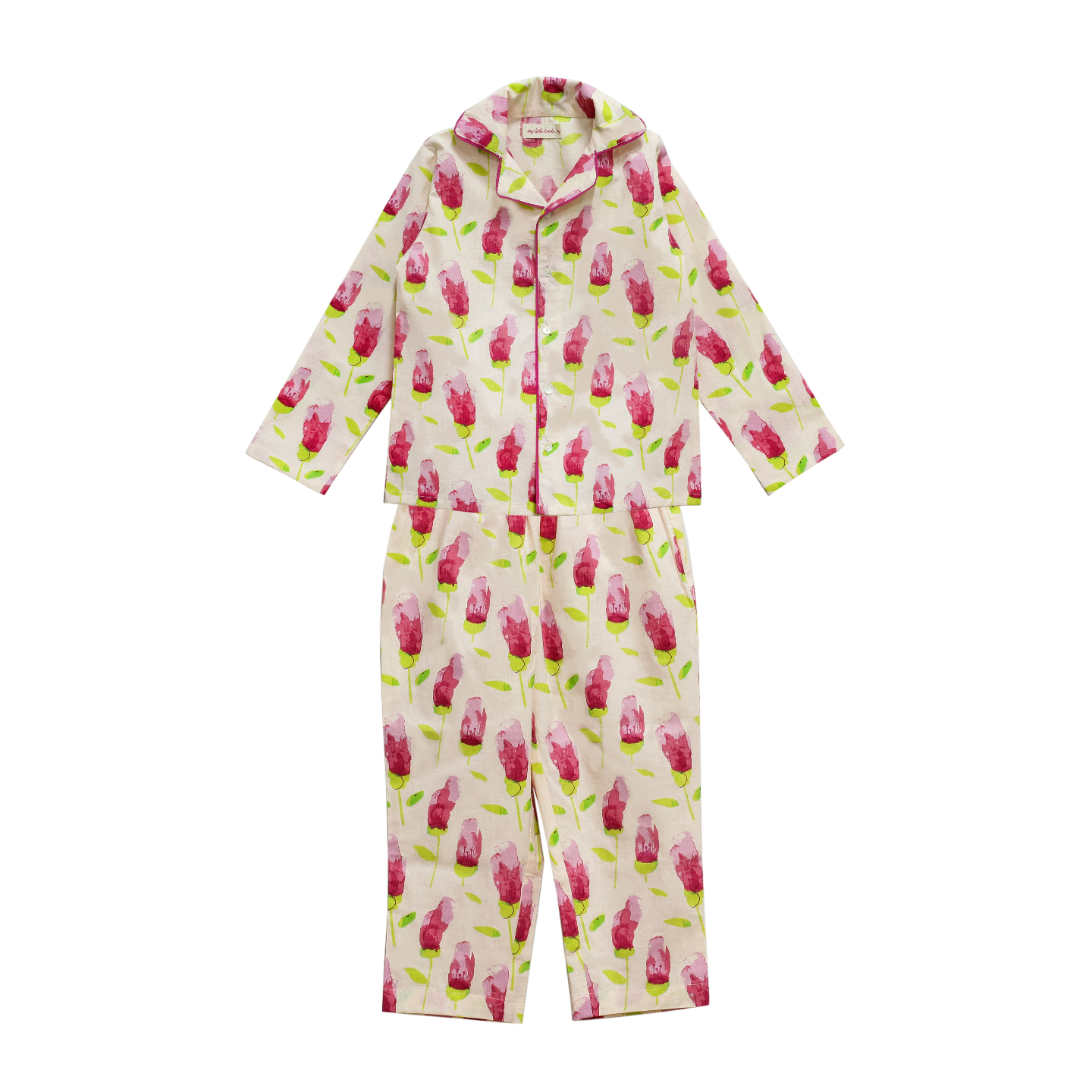 Tulip Pink Night Suit