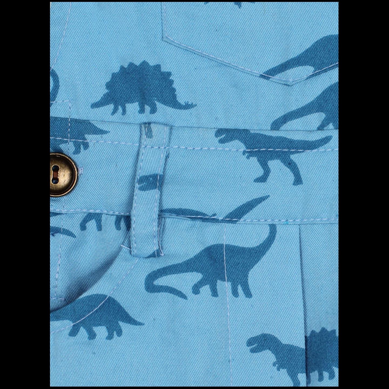 Dino Blue Dungaree