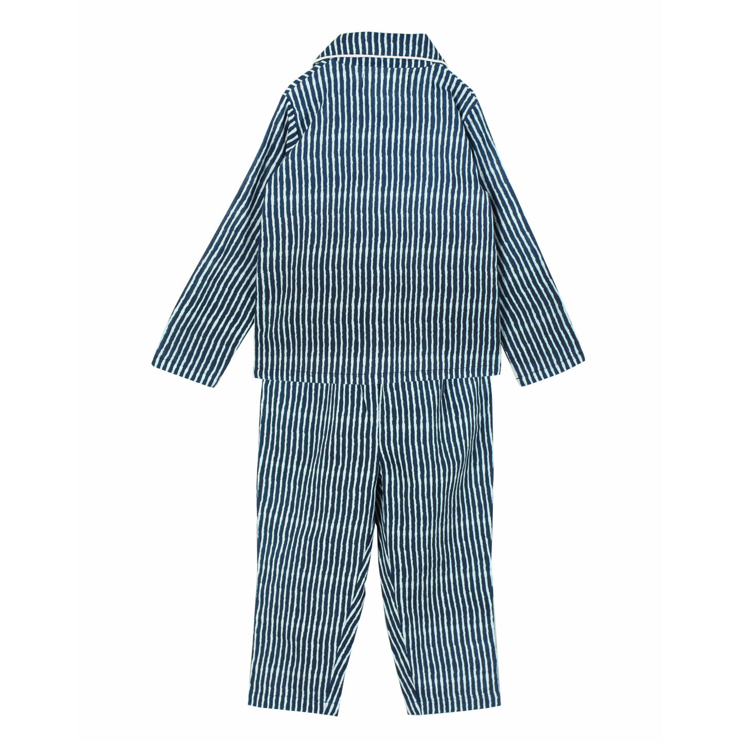 Indigo Stripe Night Suit