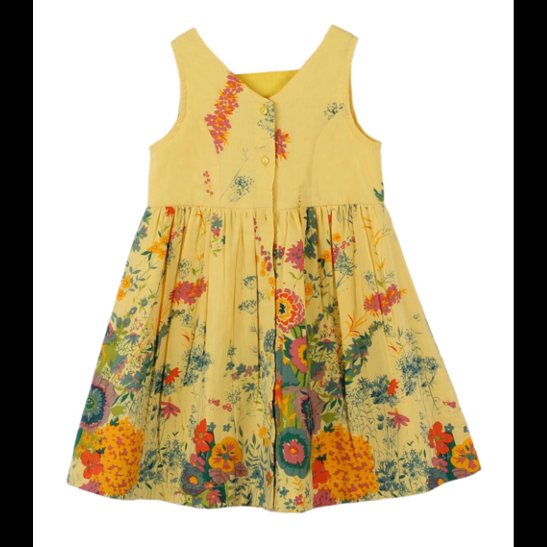 Garden yellow dress