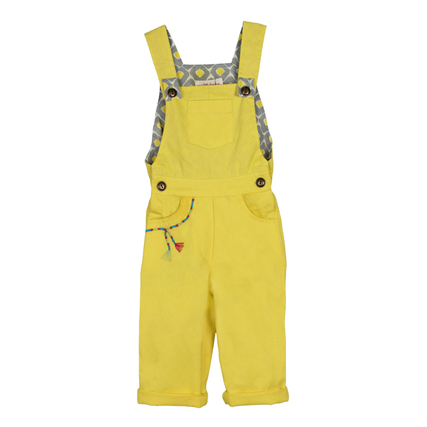 Yellow Dungaree