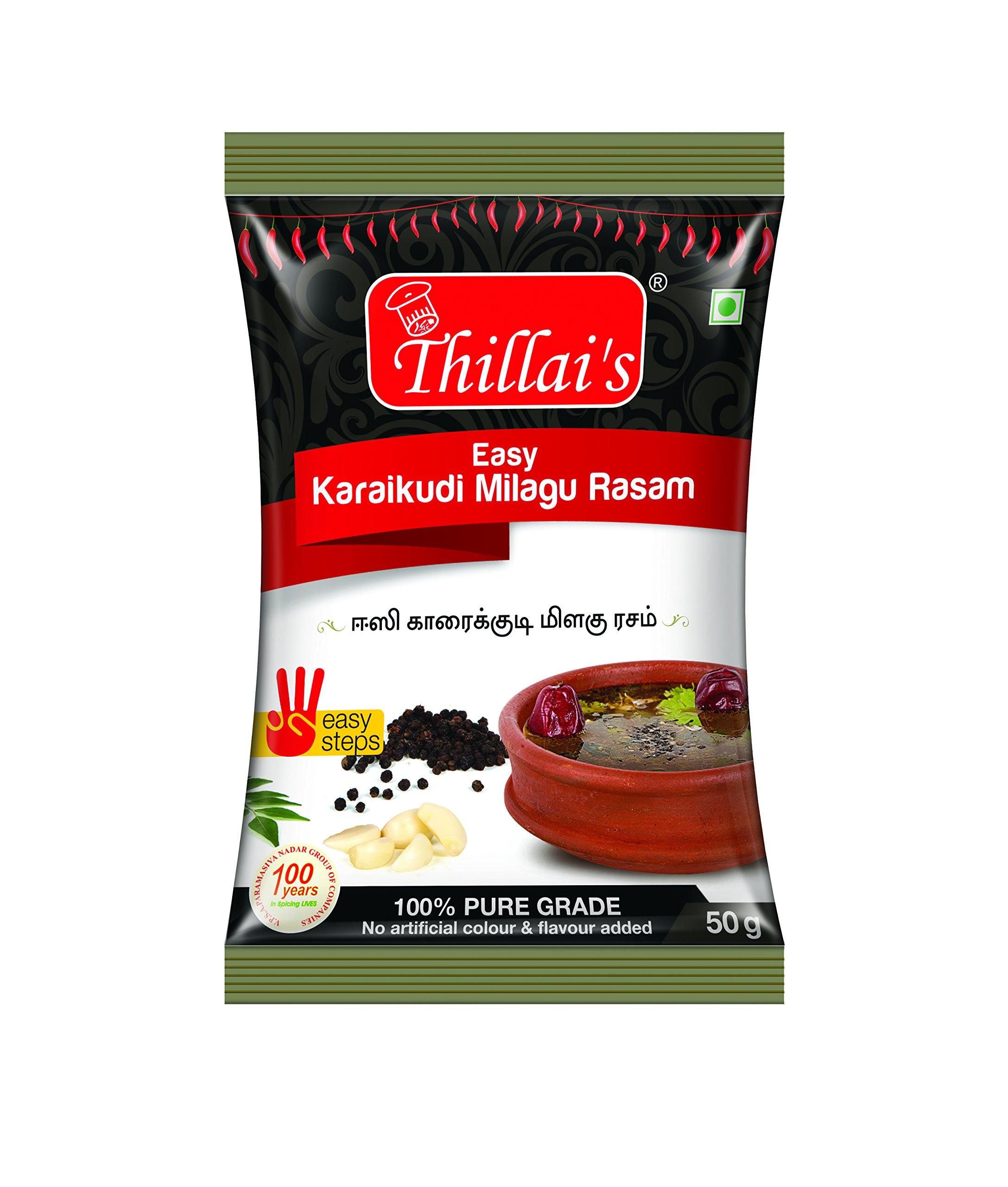 Thillais Easy Karaikudi Milagu Rasam-50g