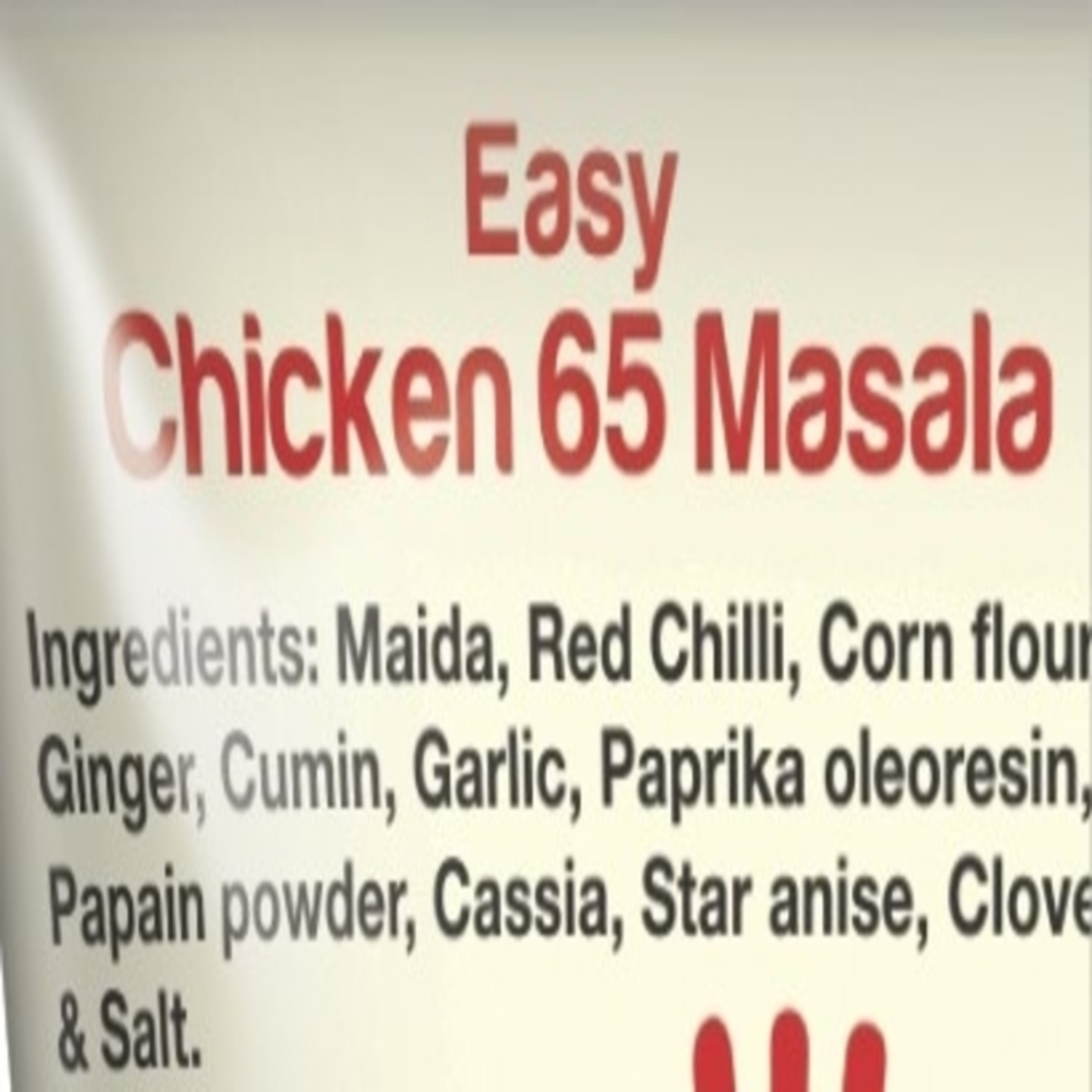 Thillais Easy Chicken65 Mix