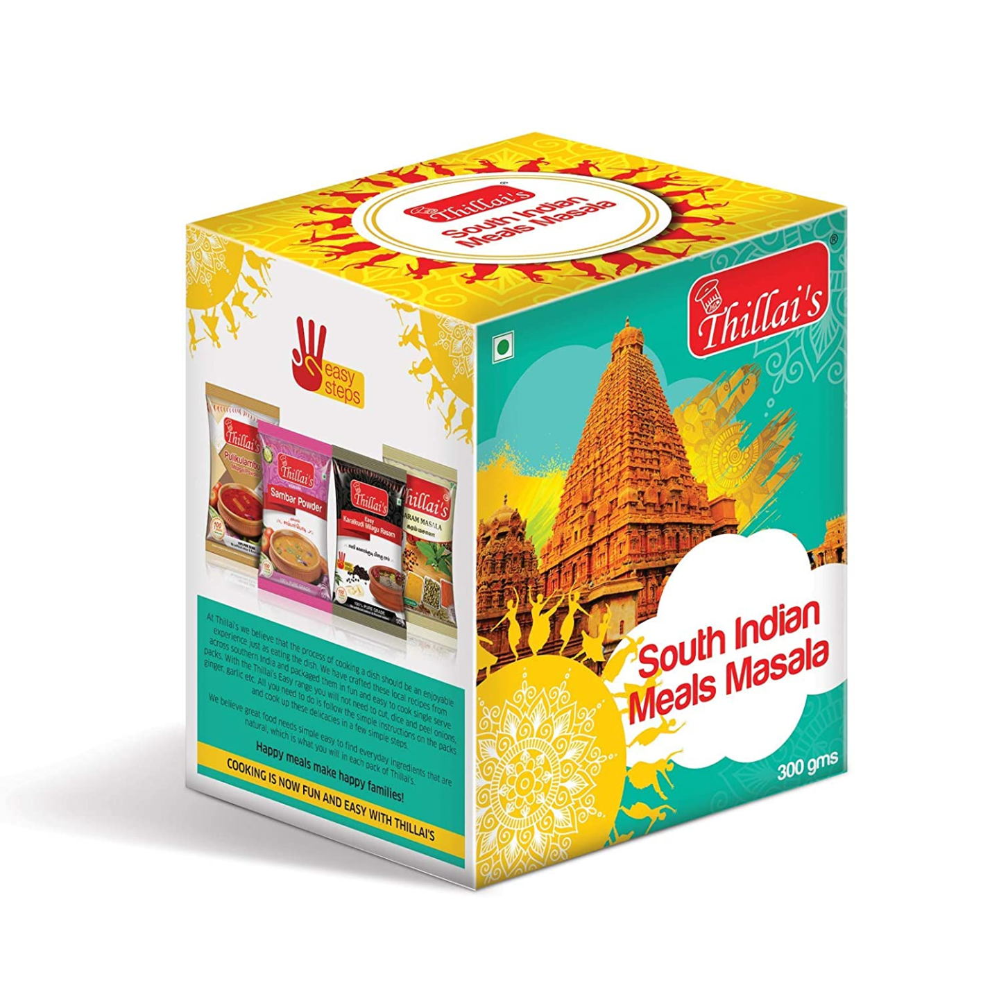 Thillais South Indian Meals Combopack of 6