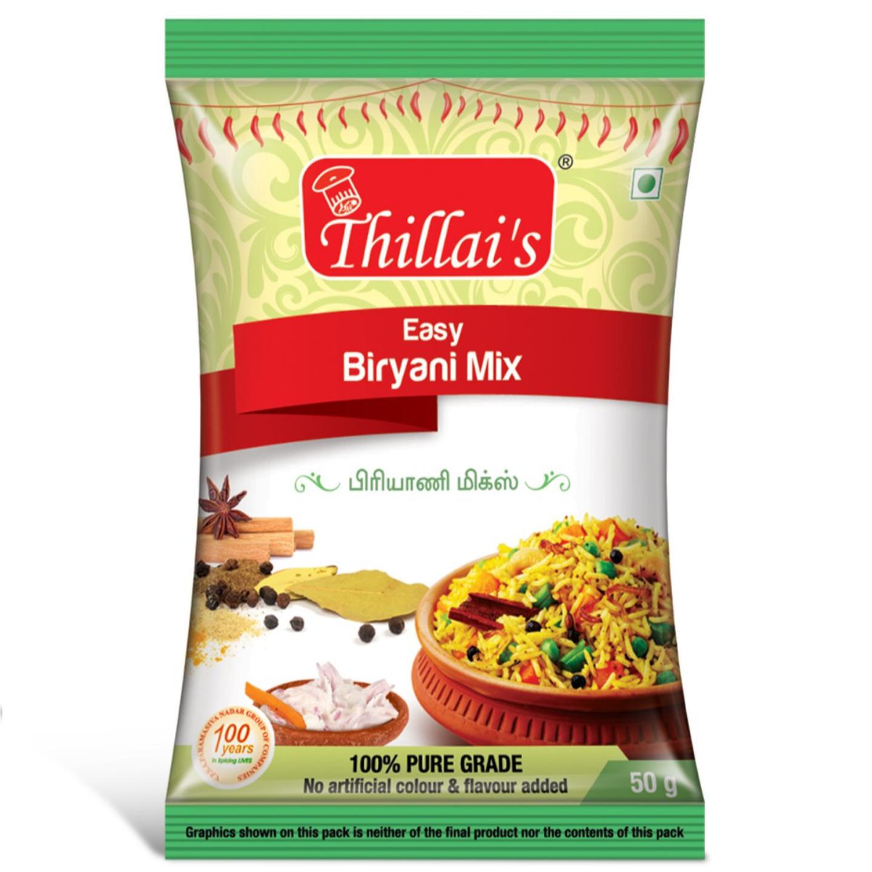 Thillais Pure Veg Combo-Garam,Sambar,Biryani,Rasam,Pulikuzhambu