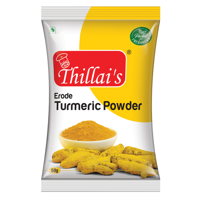 Thillai's Turmeric (Haldi) Powder-50g  (Excl GST)