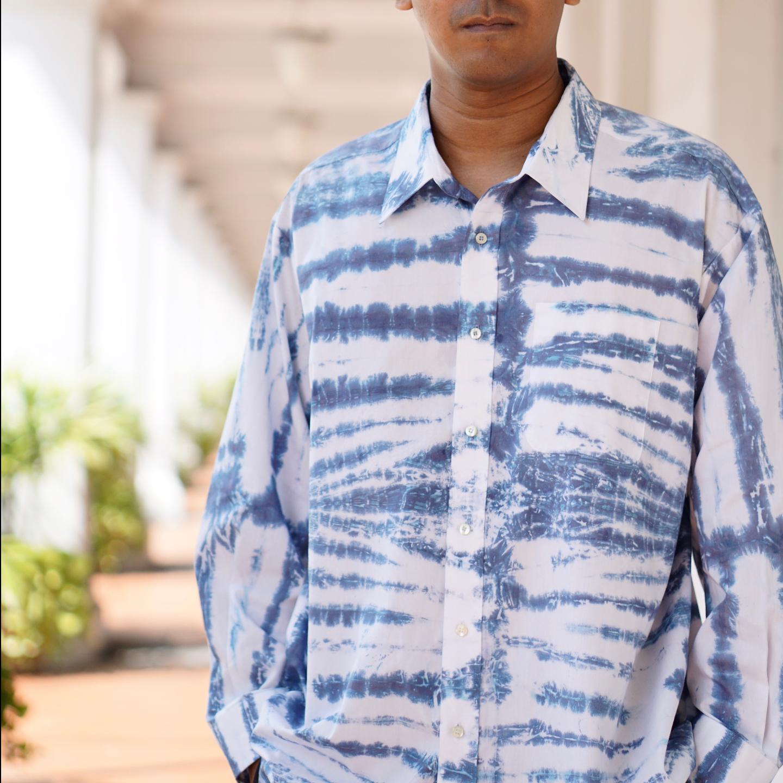 Tie & Dye Cotton Shirt