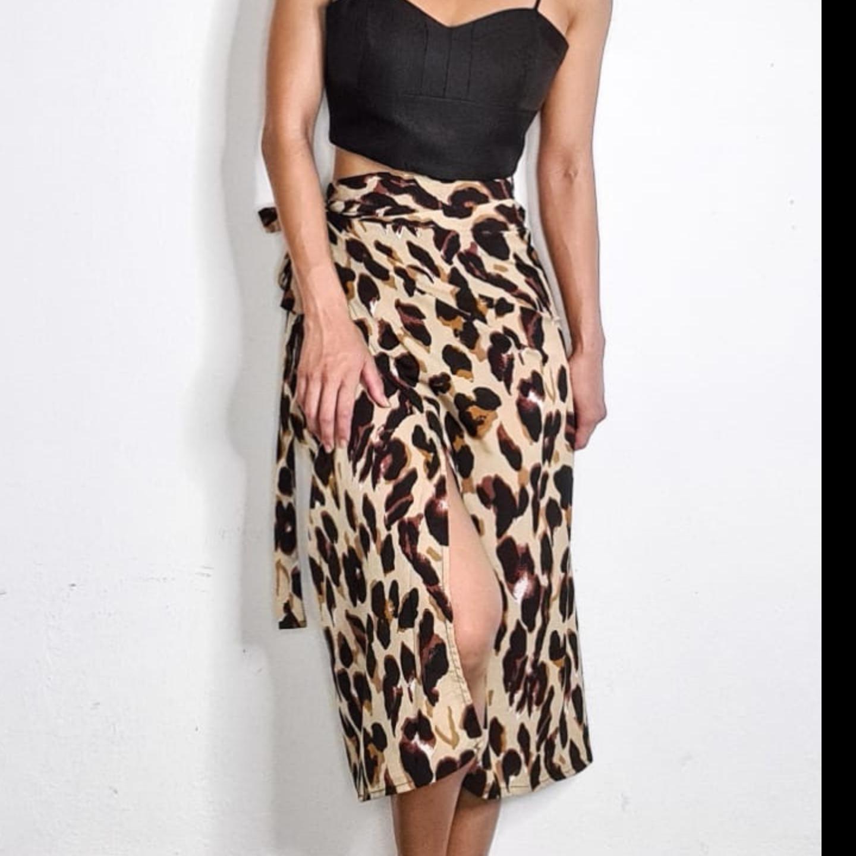 Zeya Wrap Skirt