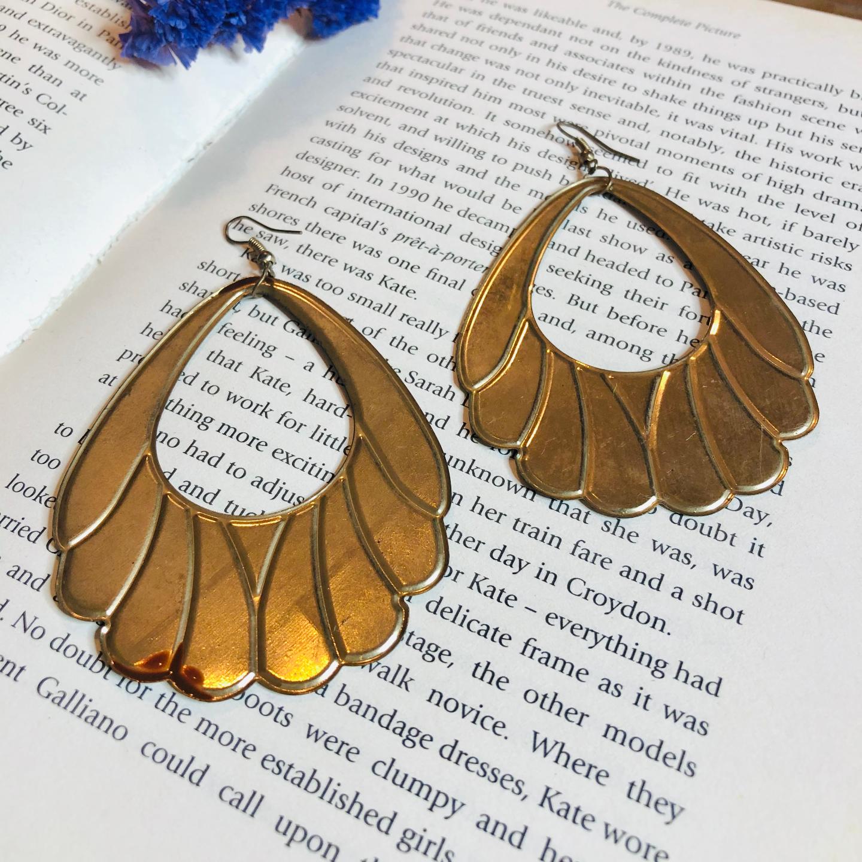 Vintage 1980s earrings