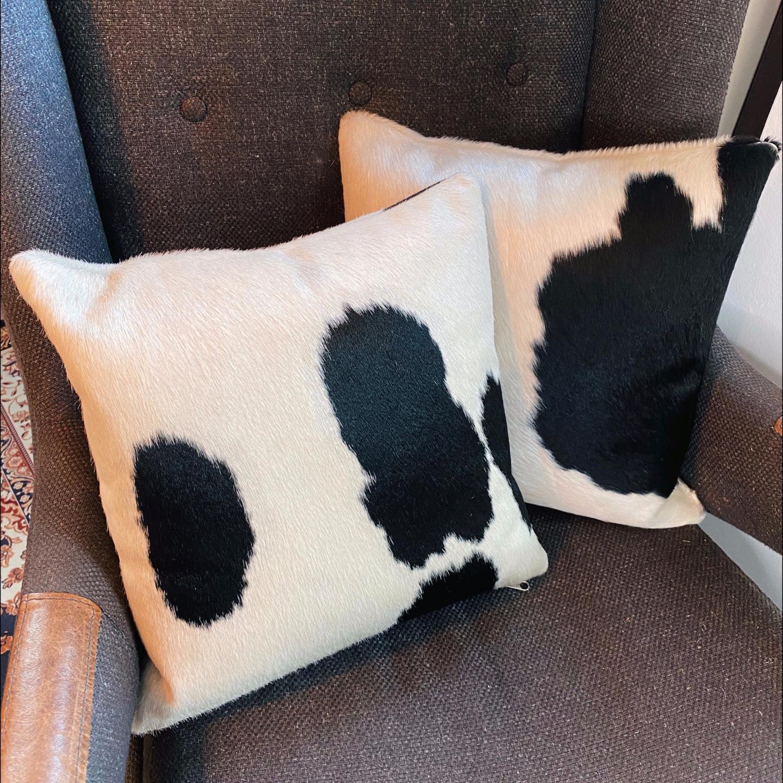 Genuine Leather Pillowcase Set 2