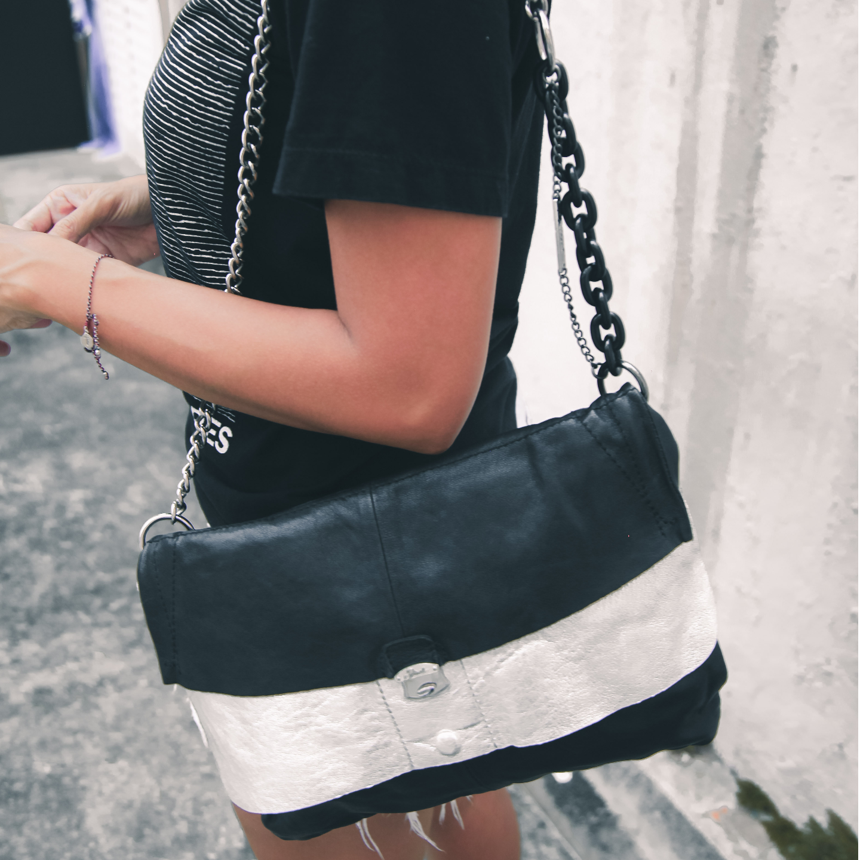 Diesel Black Gold Shoulder Bag