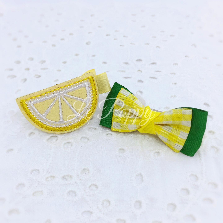 Zesty Lemon and Matching Bow