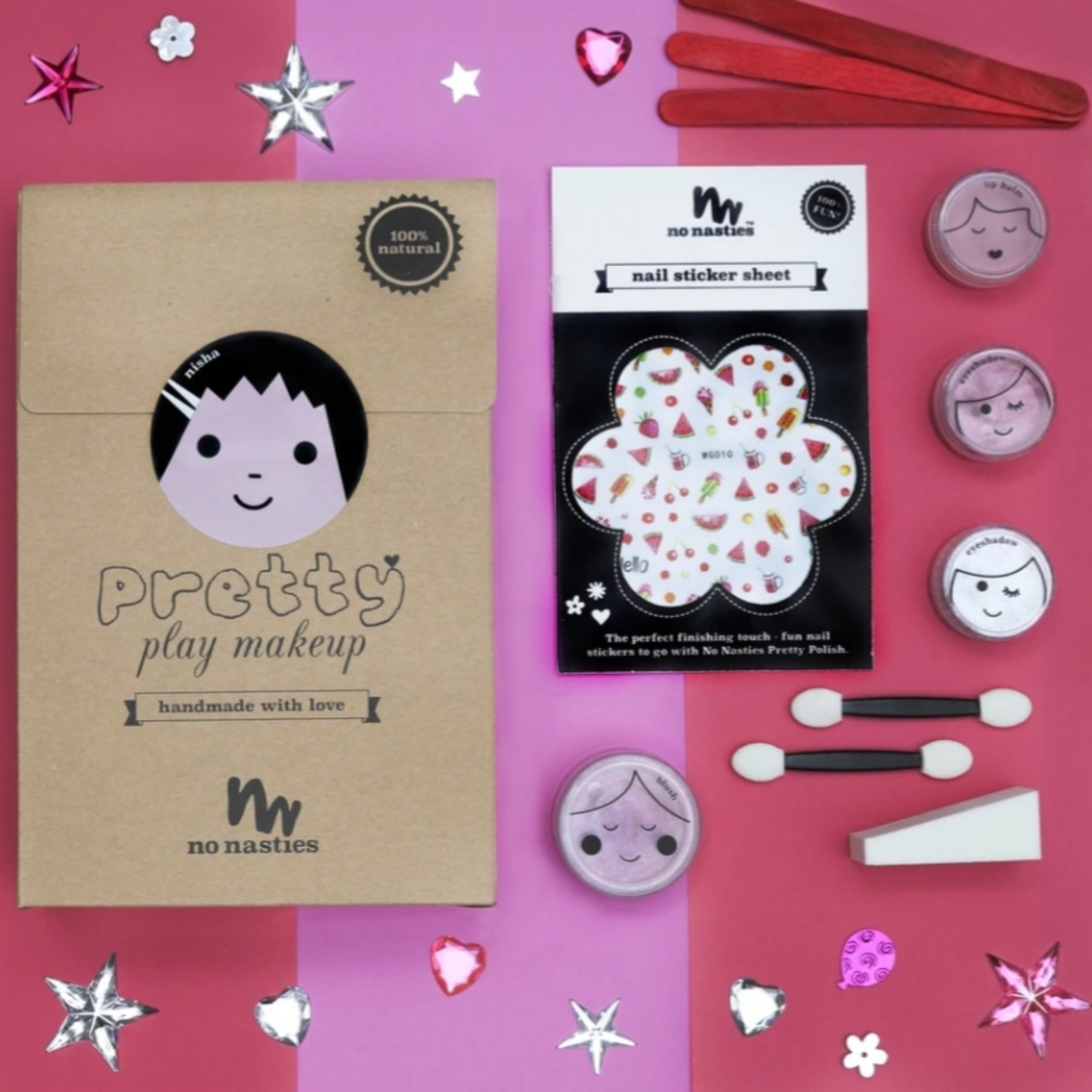 NISHA  PINK PRETTY PLAY MAKEUP GOODY PACK