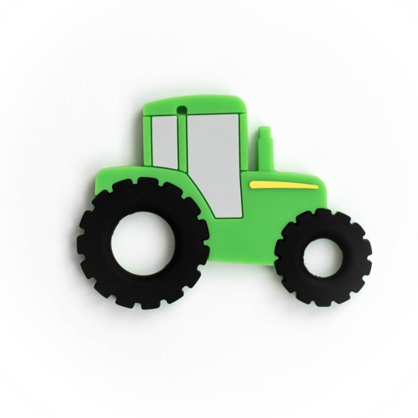 Baby Teether Tractor  Green