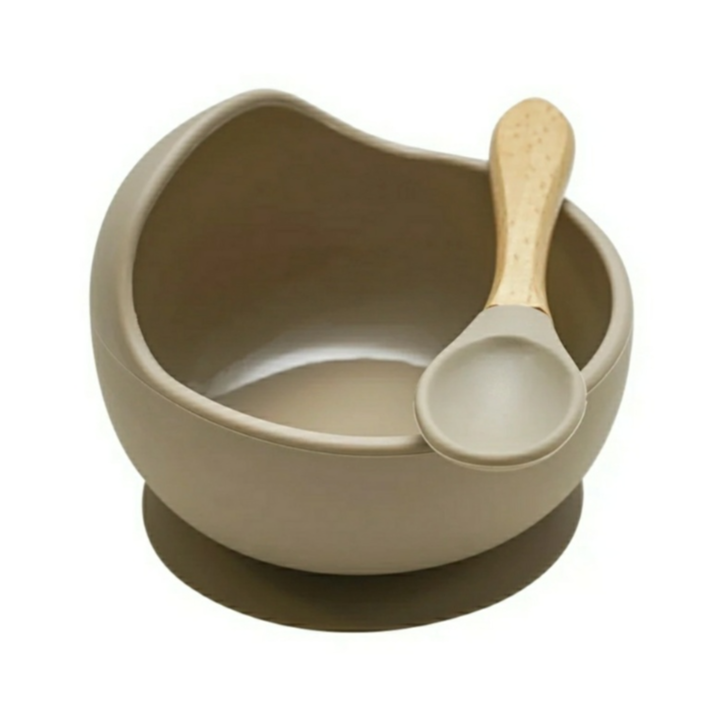 Silicone Bowl Set Nude