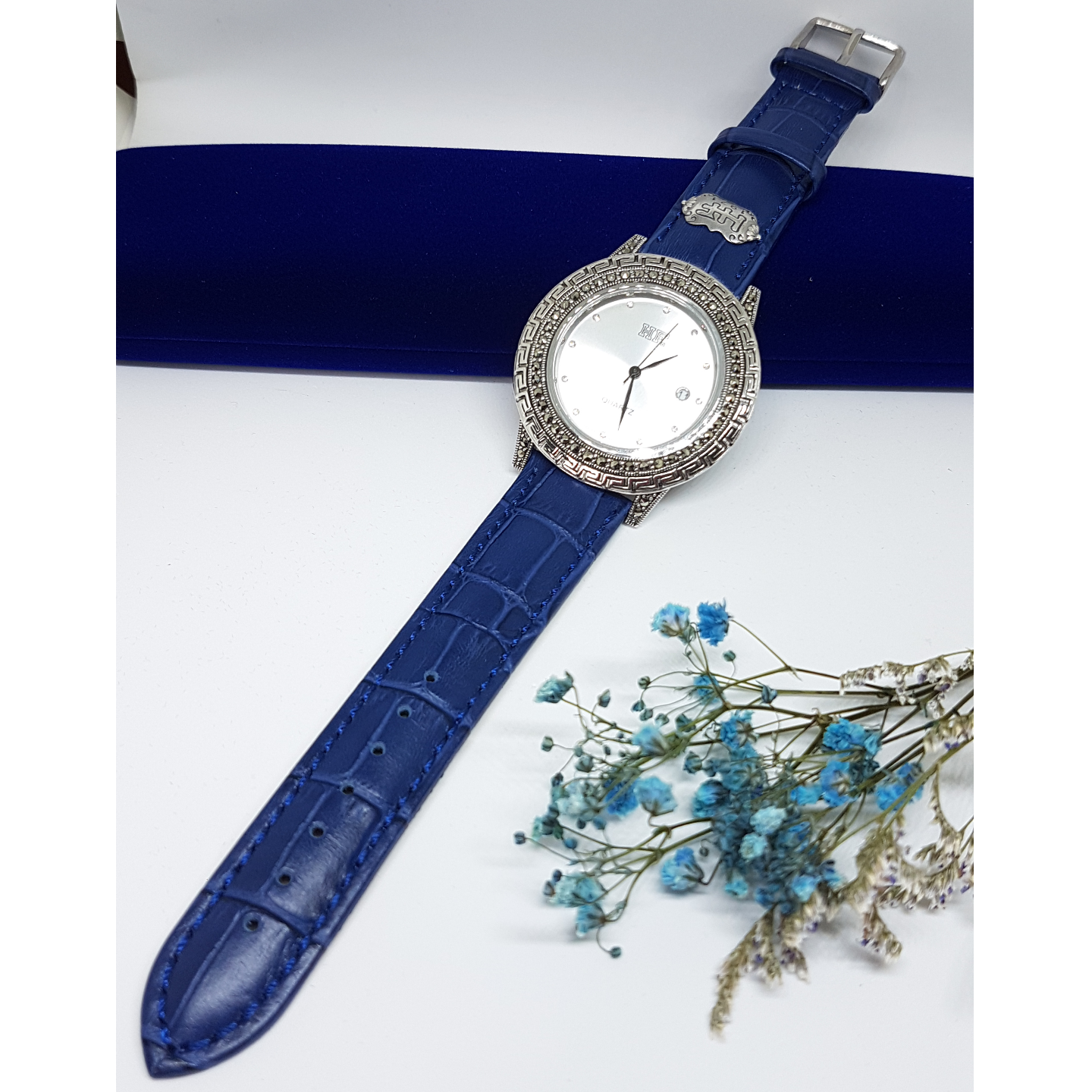 Calf Leather Watch HW134S