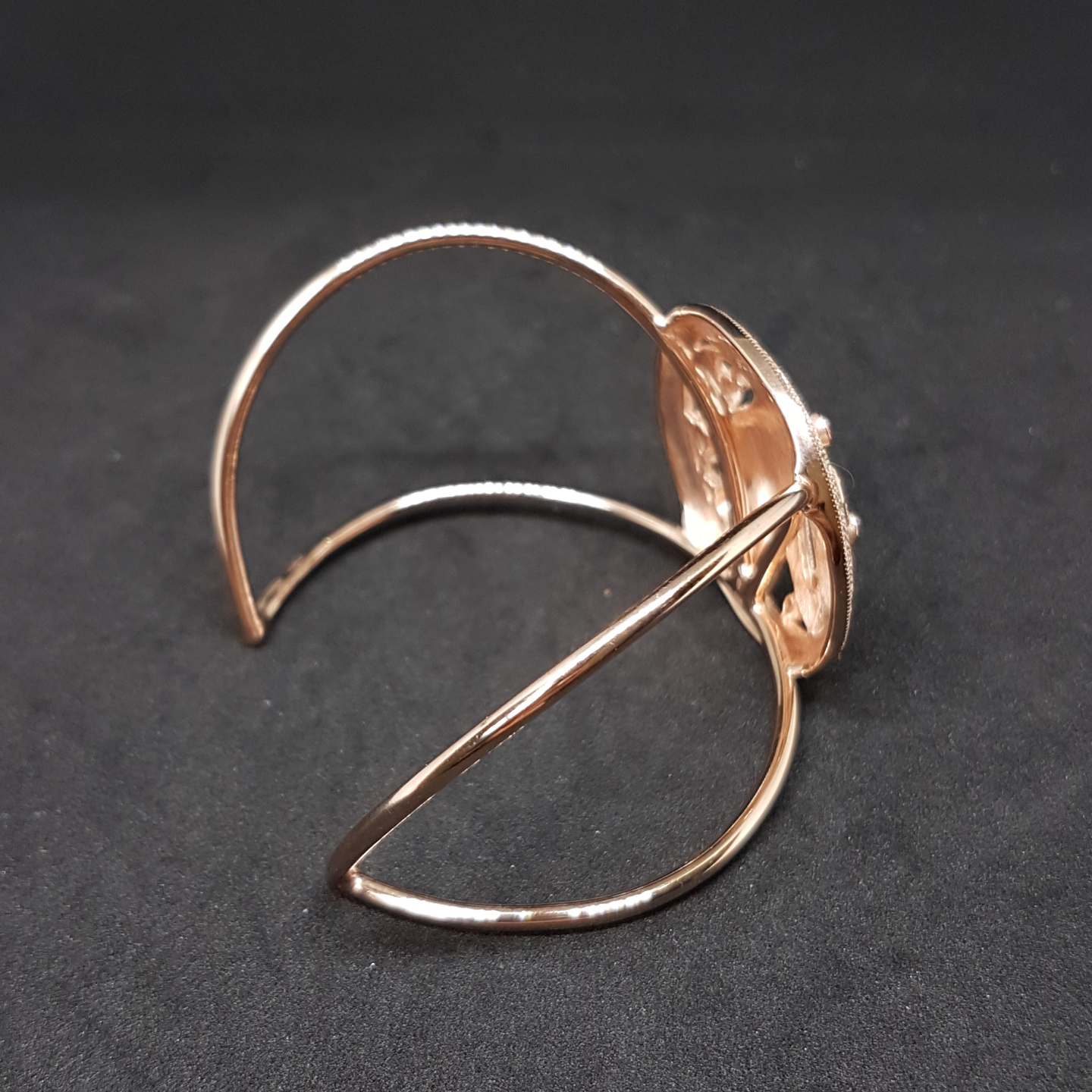Paradise Bird Bangle RoseGold