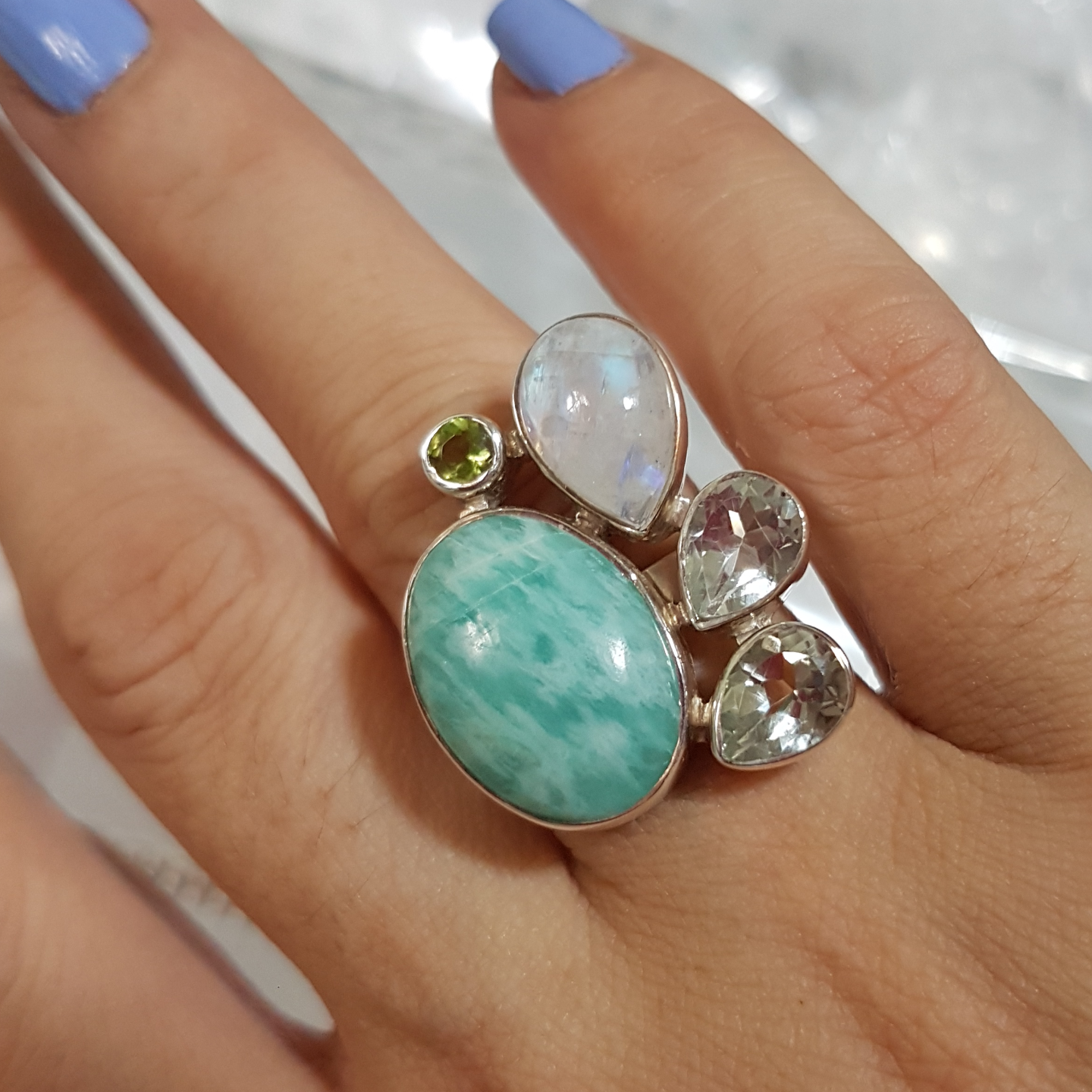 One-Of-A-Kind *Amazonite Ring