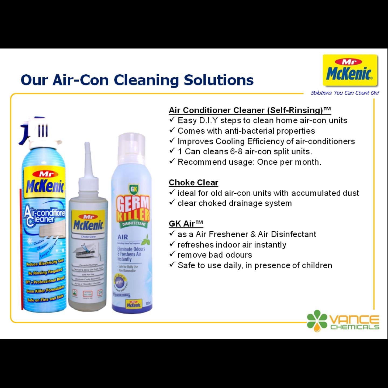 Twin Pack Air-Con Cleaner + GK Air