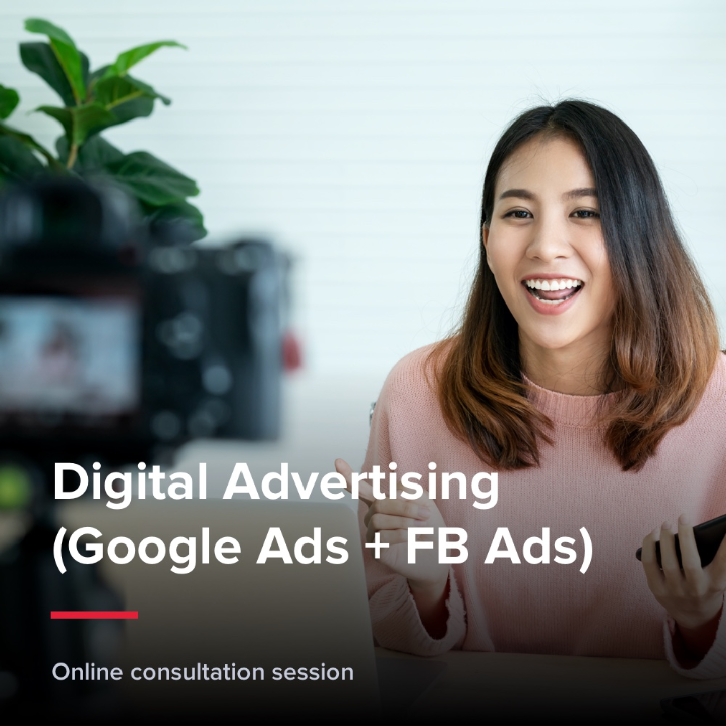 Digital Advertising (Google Ads + FB Ads)