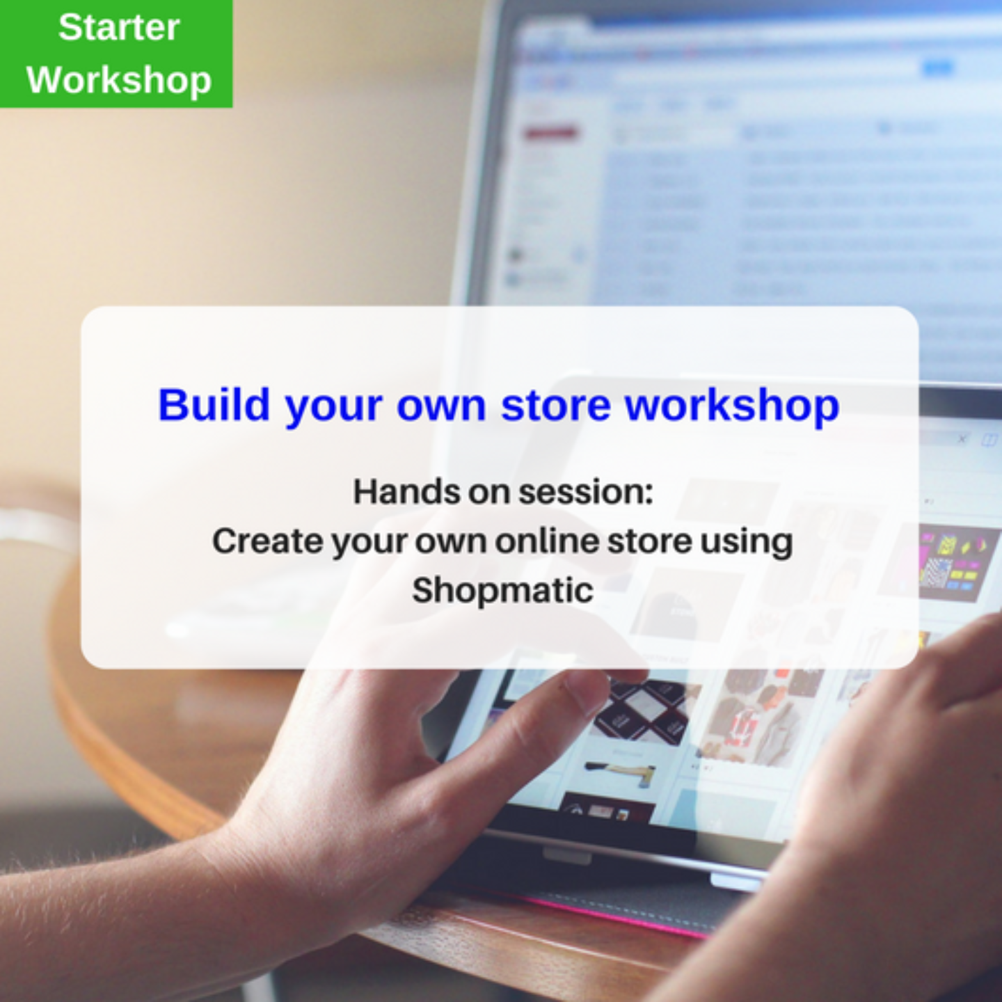 Build a webstore workshop
