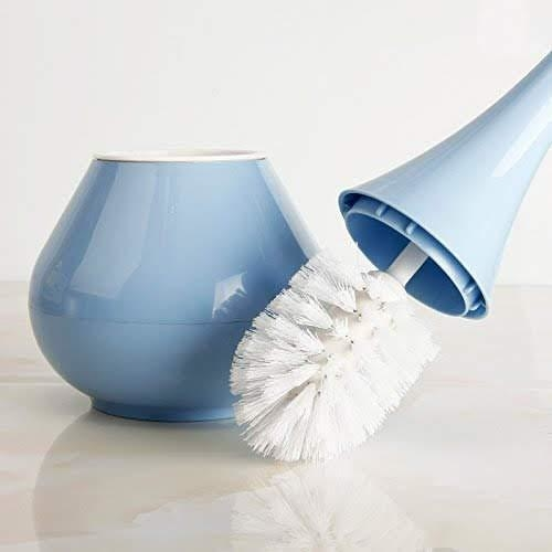 2 in 1 Plastic Cleaning Brush Toilet Brush with Holder