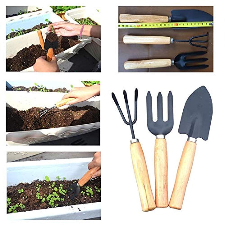 Gardening Hand Cultivator, Big Digging Trowel, Shovel & Garden Gloves with Claws for Digging & Planting