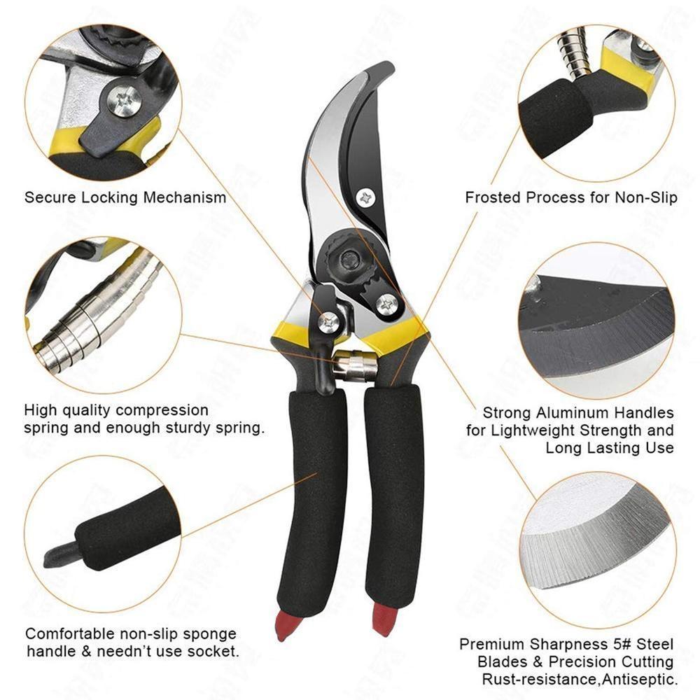Garden Shears Sharp Cutter Pruners Scissor, Pruner