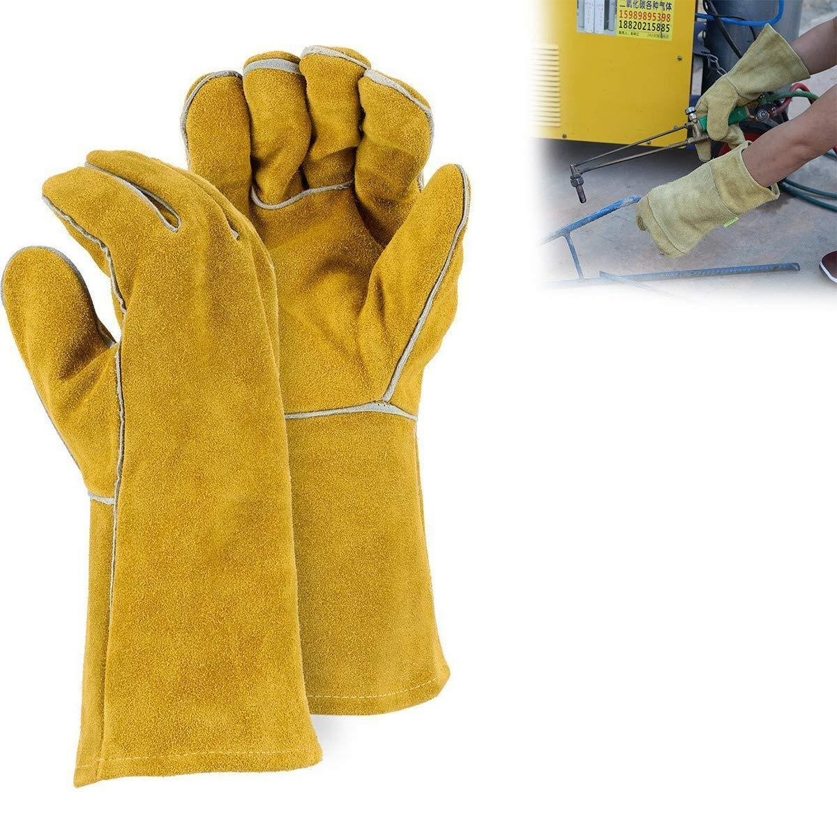 Protective Durable Heat Resistant Welding Gloves