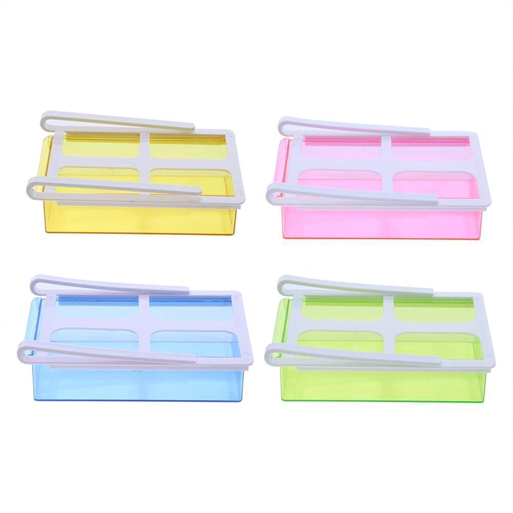 Fridge Space Saver Storage Sliding DrawerShelf Fridge Storage Box