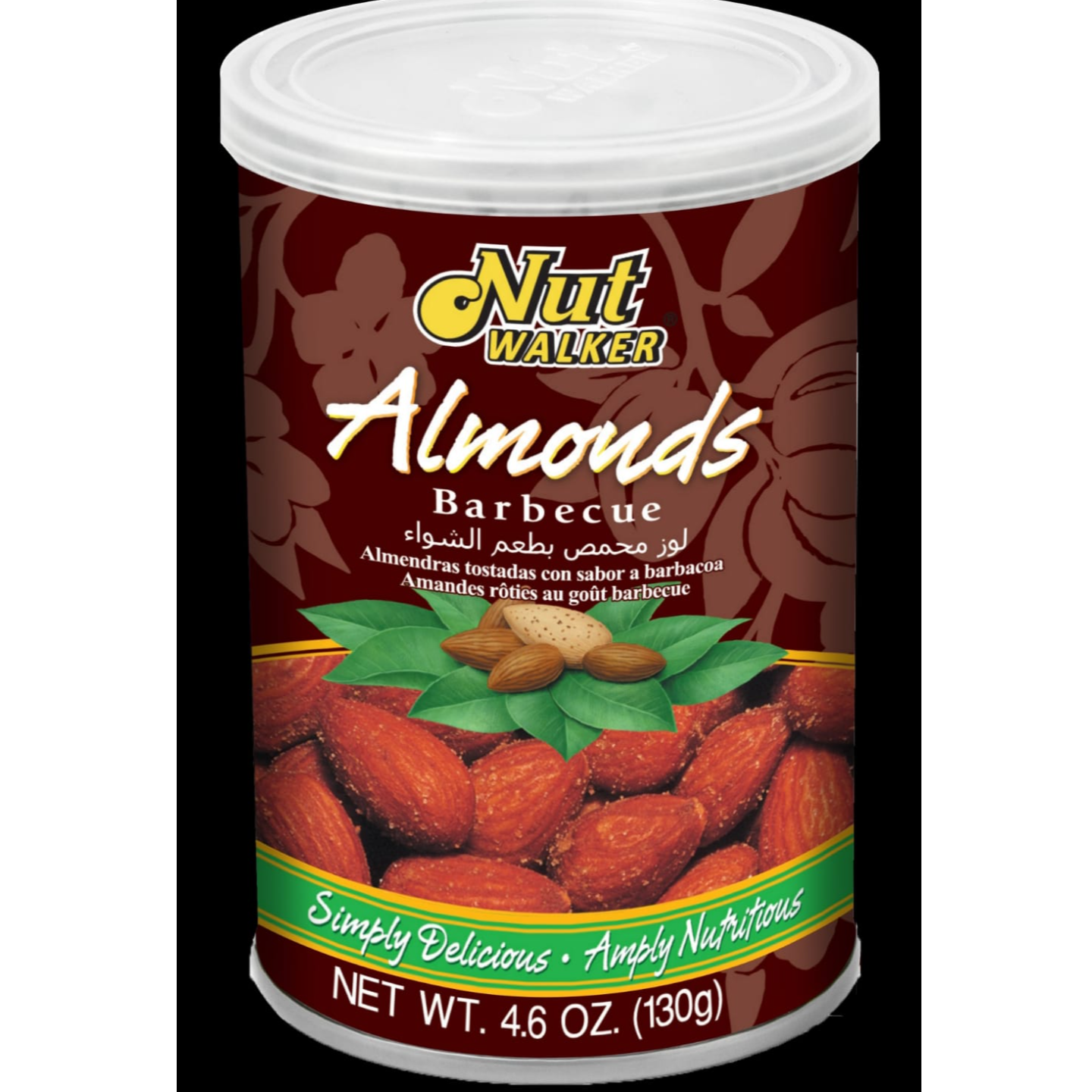 Nut Walker Almonds Barbecue Flavor 130 G