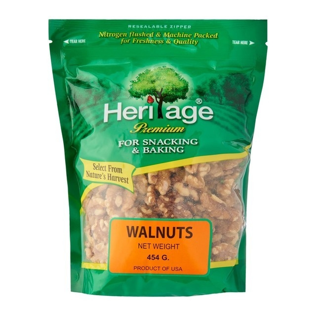 Heritage Raw Walnuts