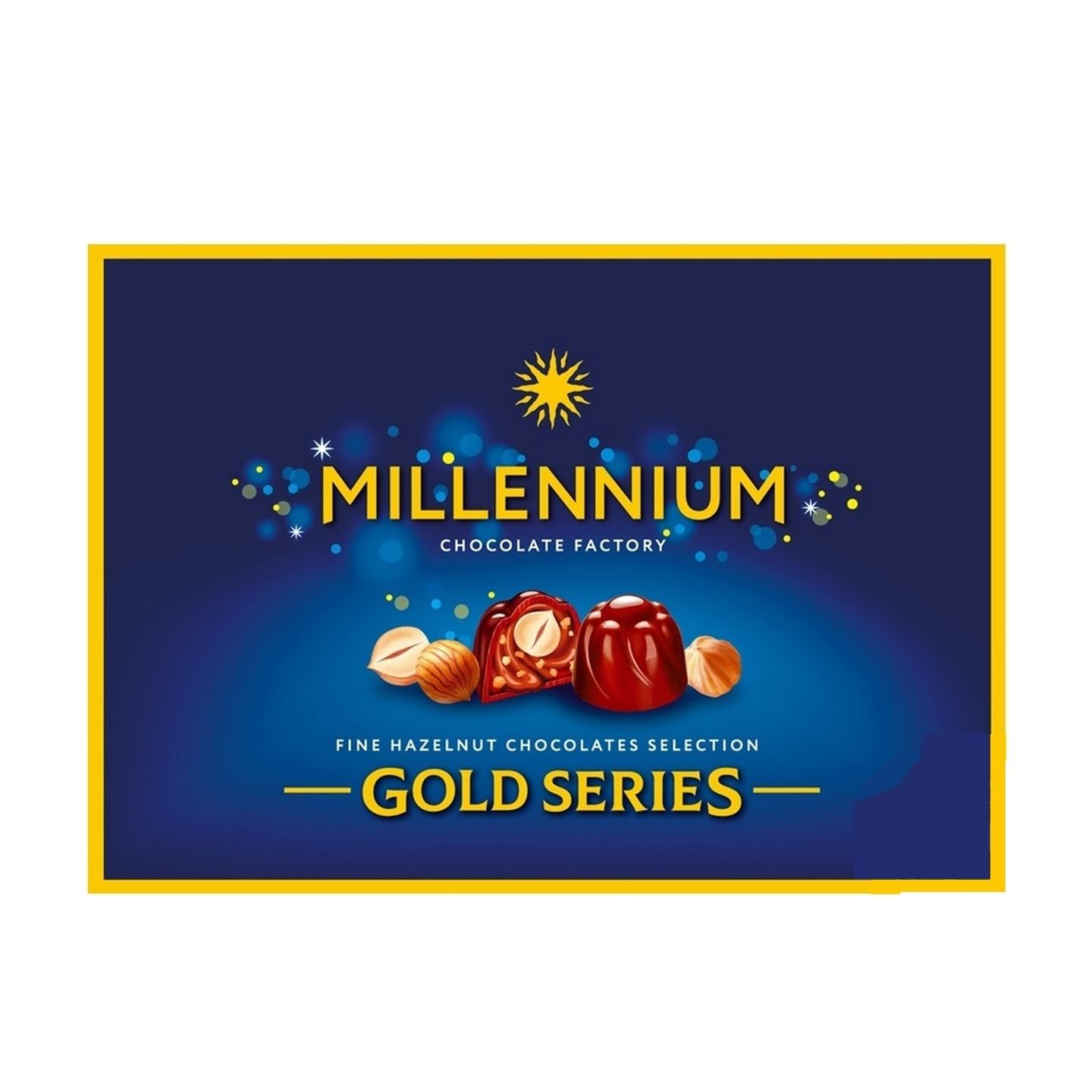 Millennium Gold Series Milk Chocolate With Whole Hazelnuts