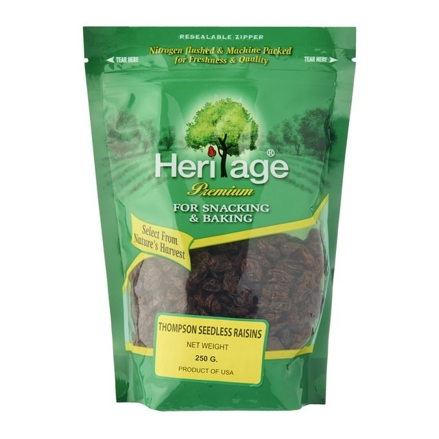 Heritage Thompson Seedless Black Raisin