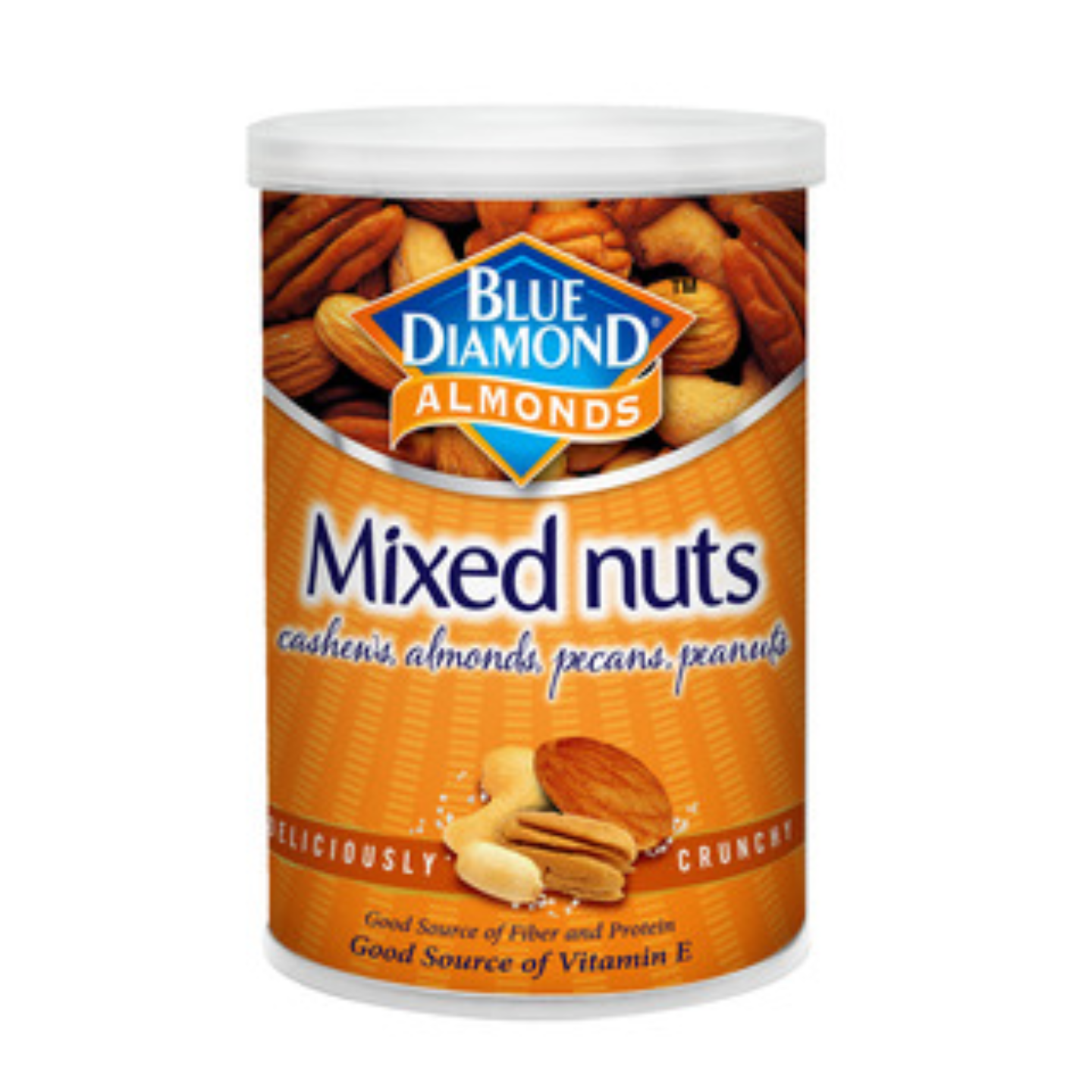 Blue Diamond Roasted Mixed Nuts ( Cashew Almonds Pecans And less than 30% Peanuts) 135g