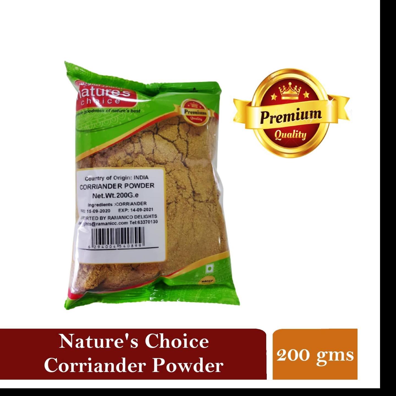 NATURES CHOICE PREMIUM QUALITY CORIANDER POWDER 200