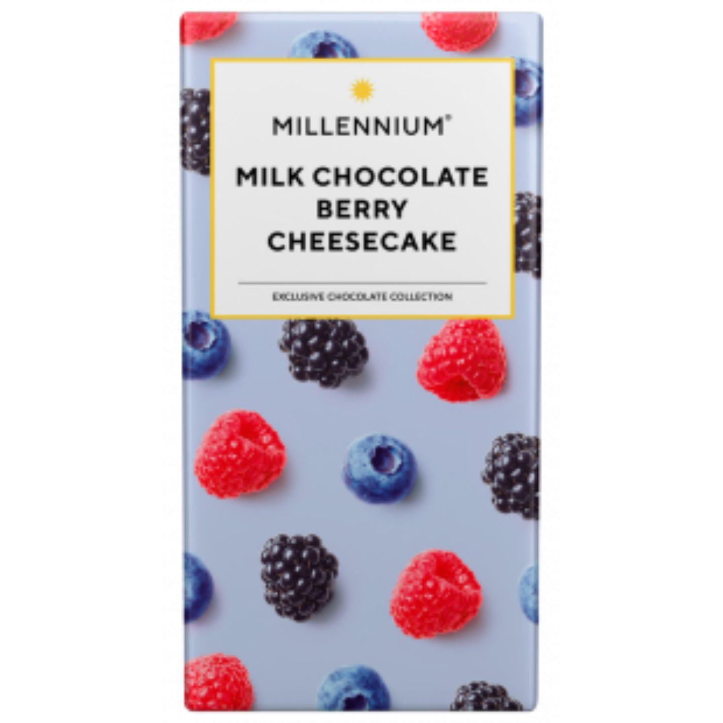 Millennium Milk Chocolate Bar with Berry and Cheesecake 100 G