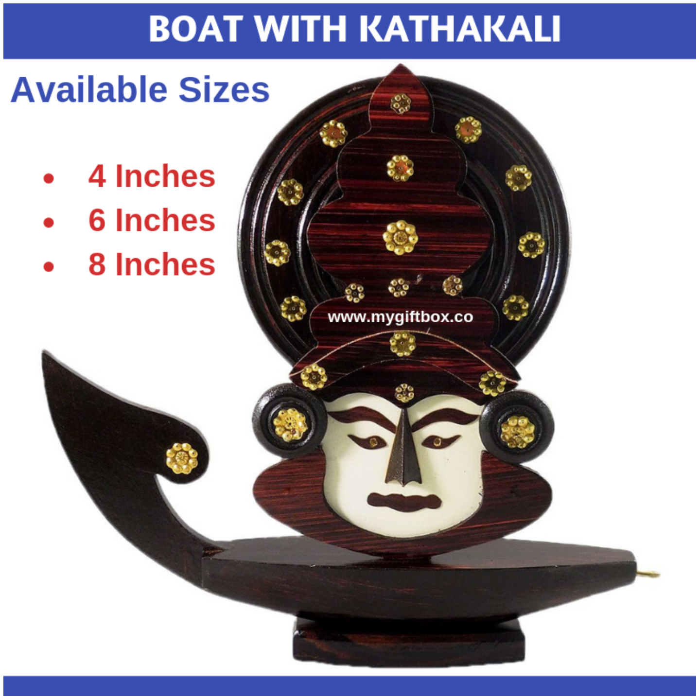 Boat With Kathakali