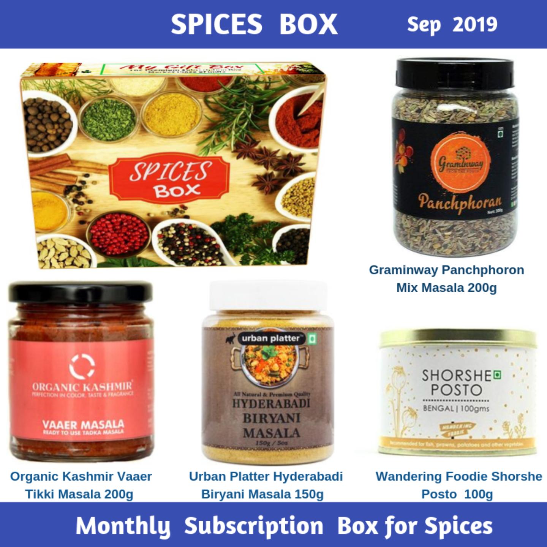 Spices Box