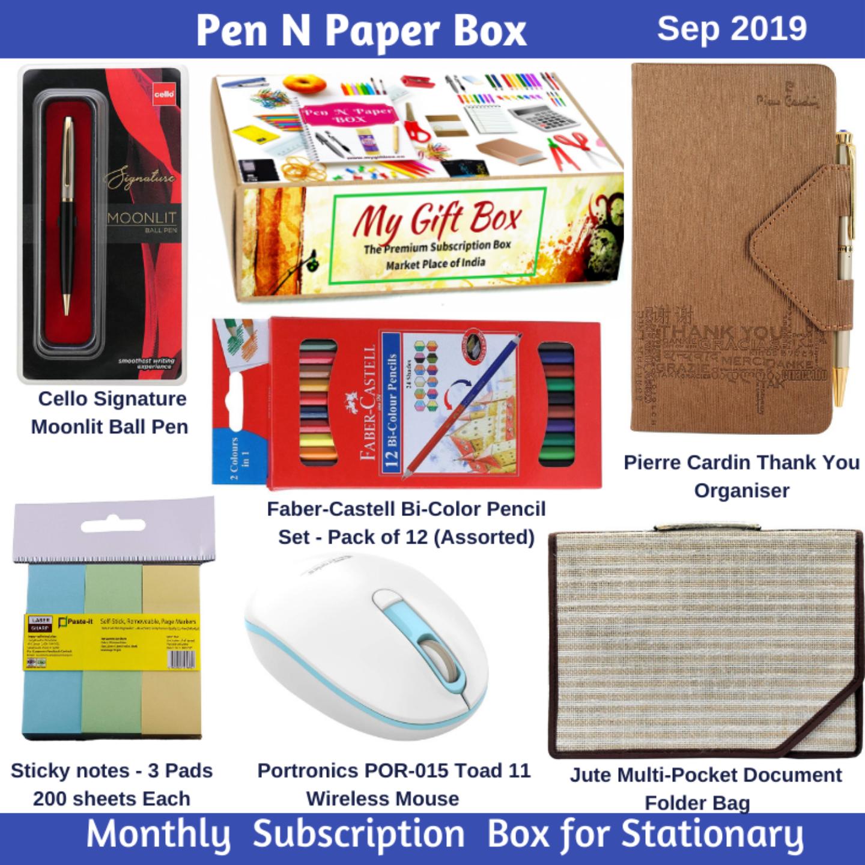 Pen N Paper Box