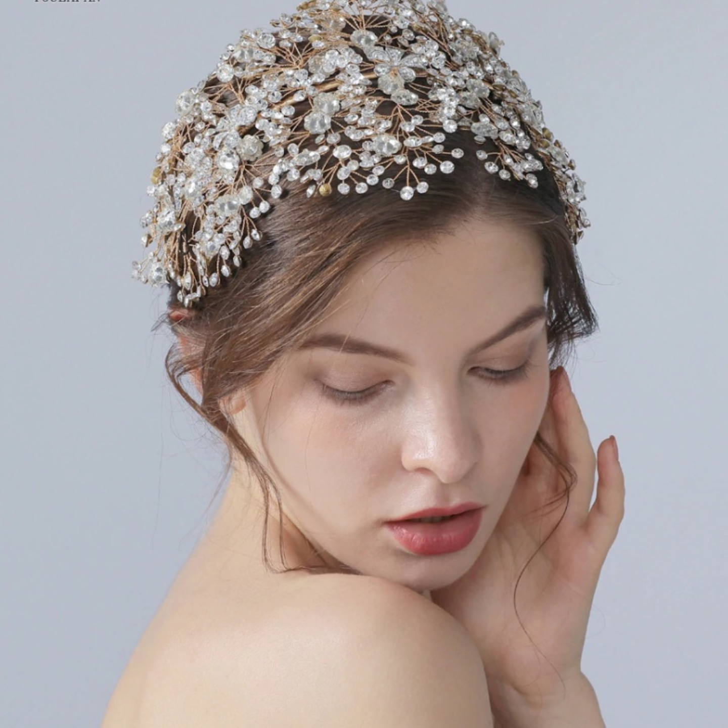 Bride Crystal Wedding  Tiara