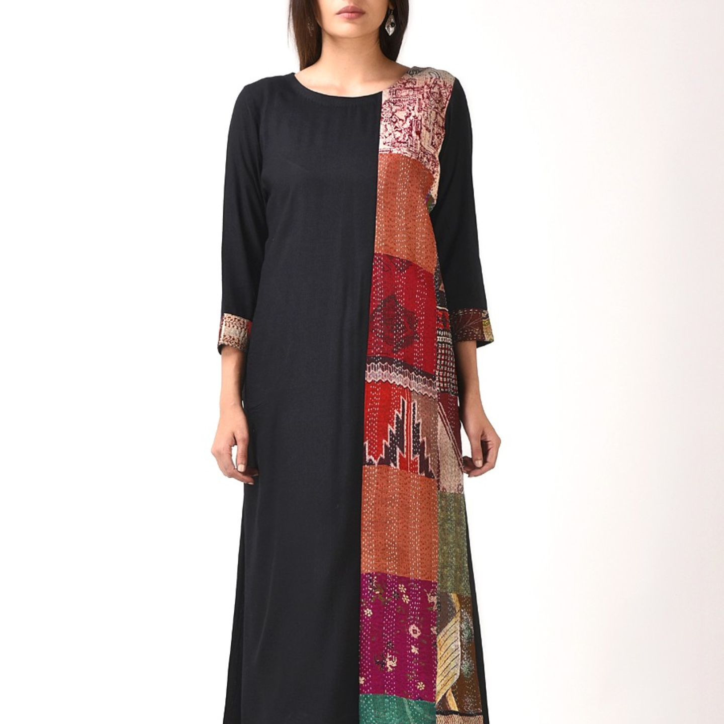 Kantha Patch Kurta