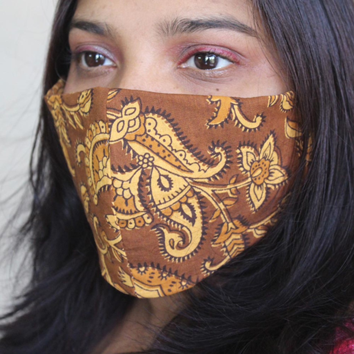 Reusable Cotton Printed Mask Pack of 4
