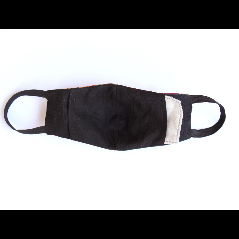 Silk Kantha Reusable Mask Set of 2