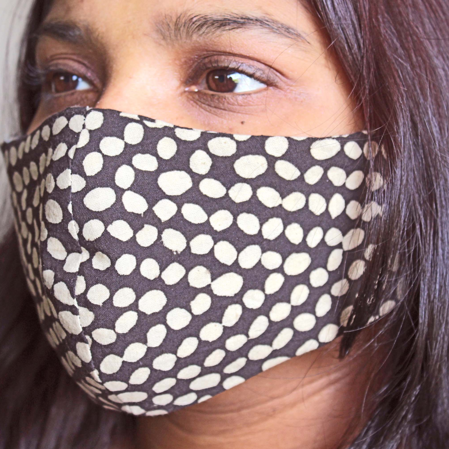 Printed Cotton Mask (Pack of 4)