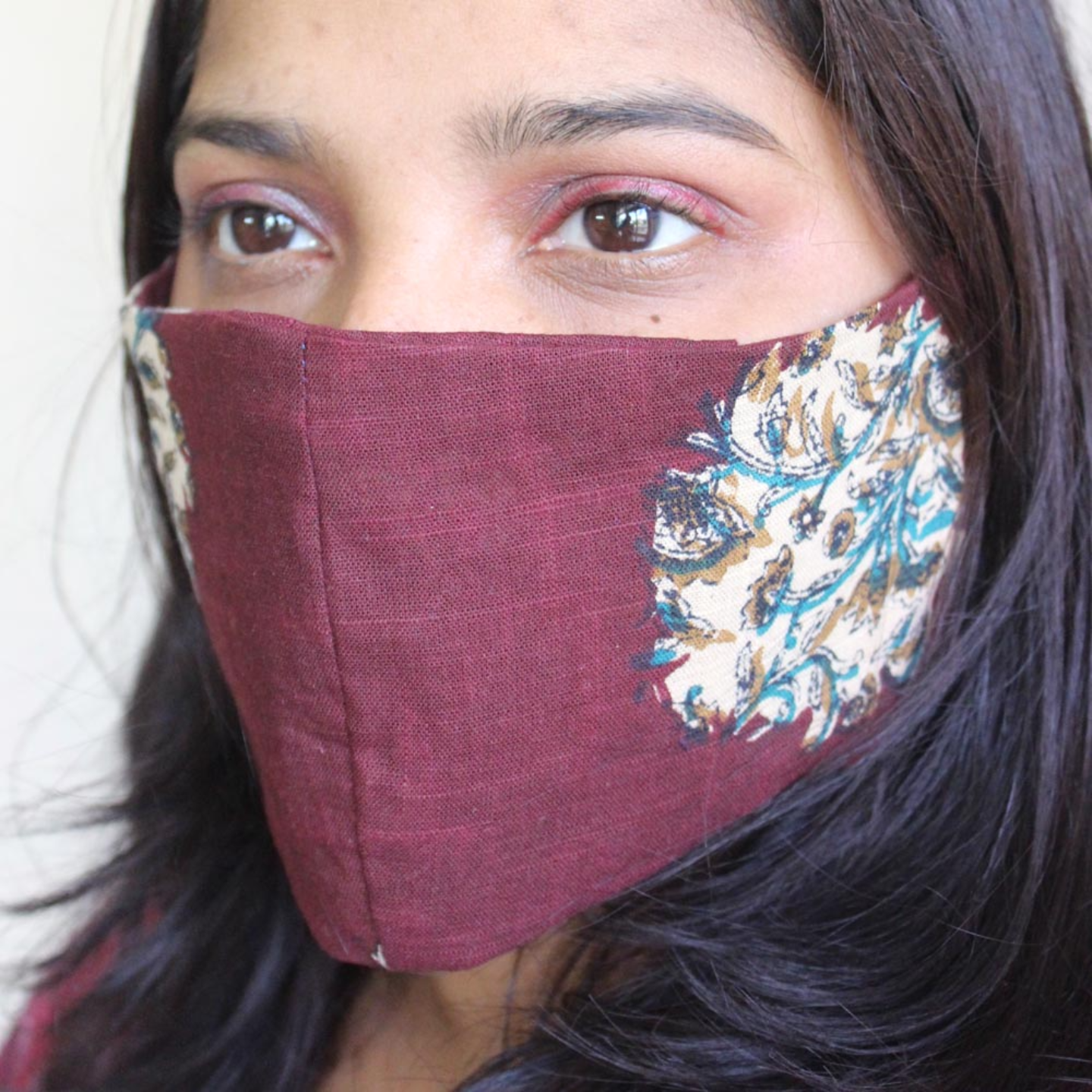 Pack of 4 Reusable Printed Cotton Mask