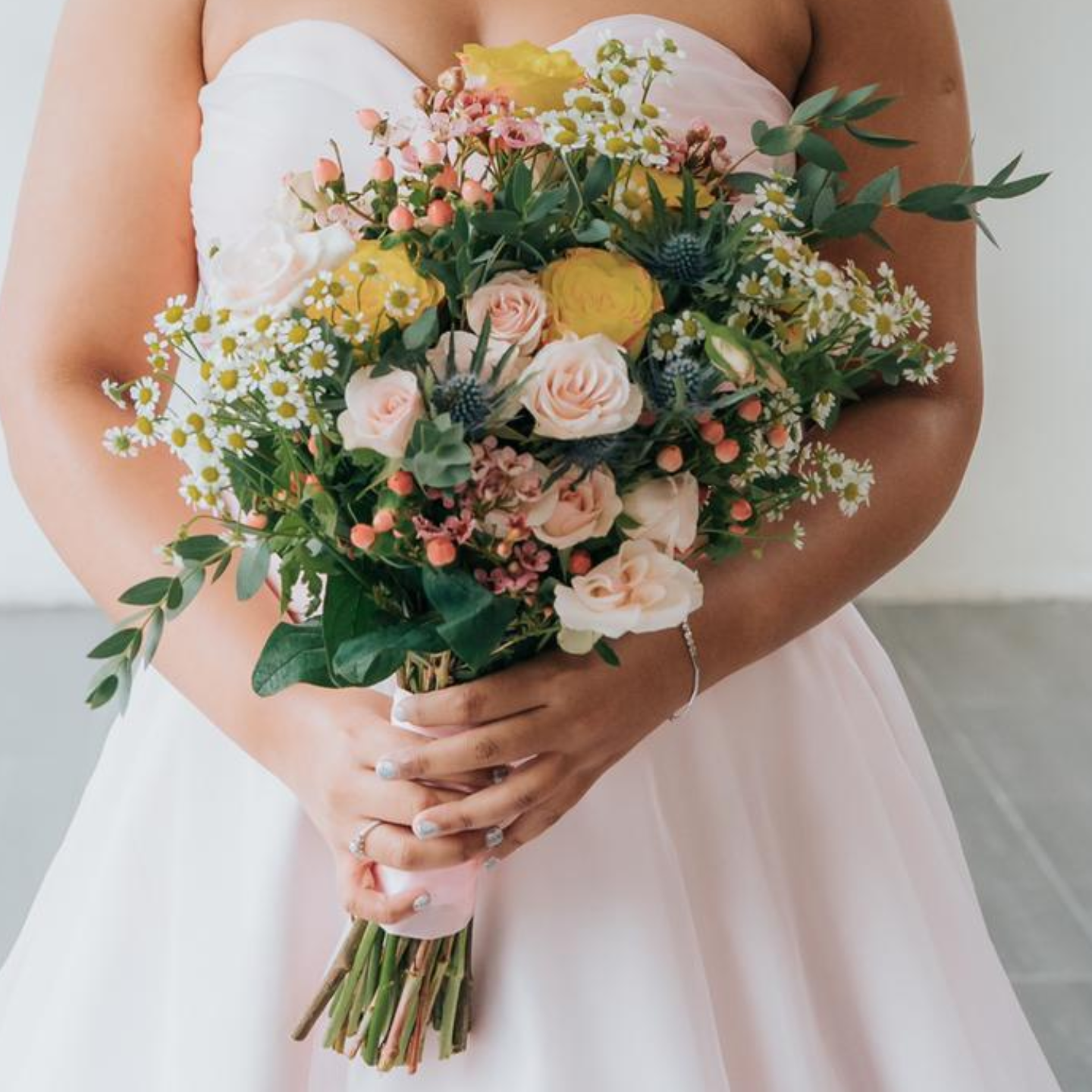 Rustic Summer Bridal Bouquet
