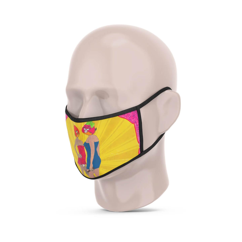 Angry Birds-1 Reusable Face Mask - Tushar Waghela