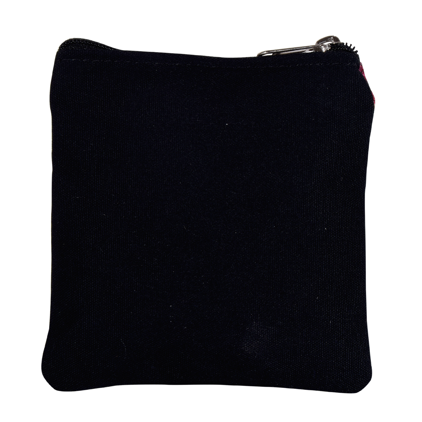 Fort in a Lake Poly Canvas Coin Pouch